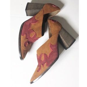 Free People Suede Booties size 38